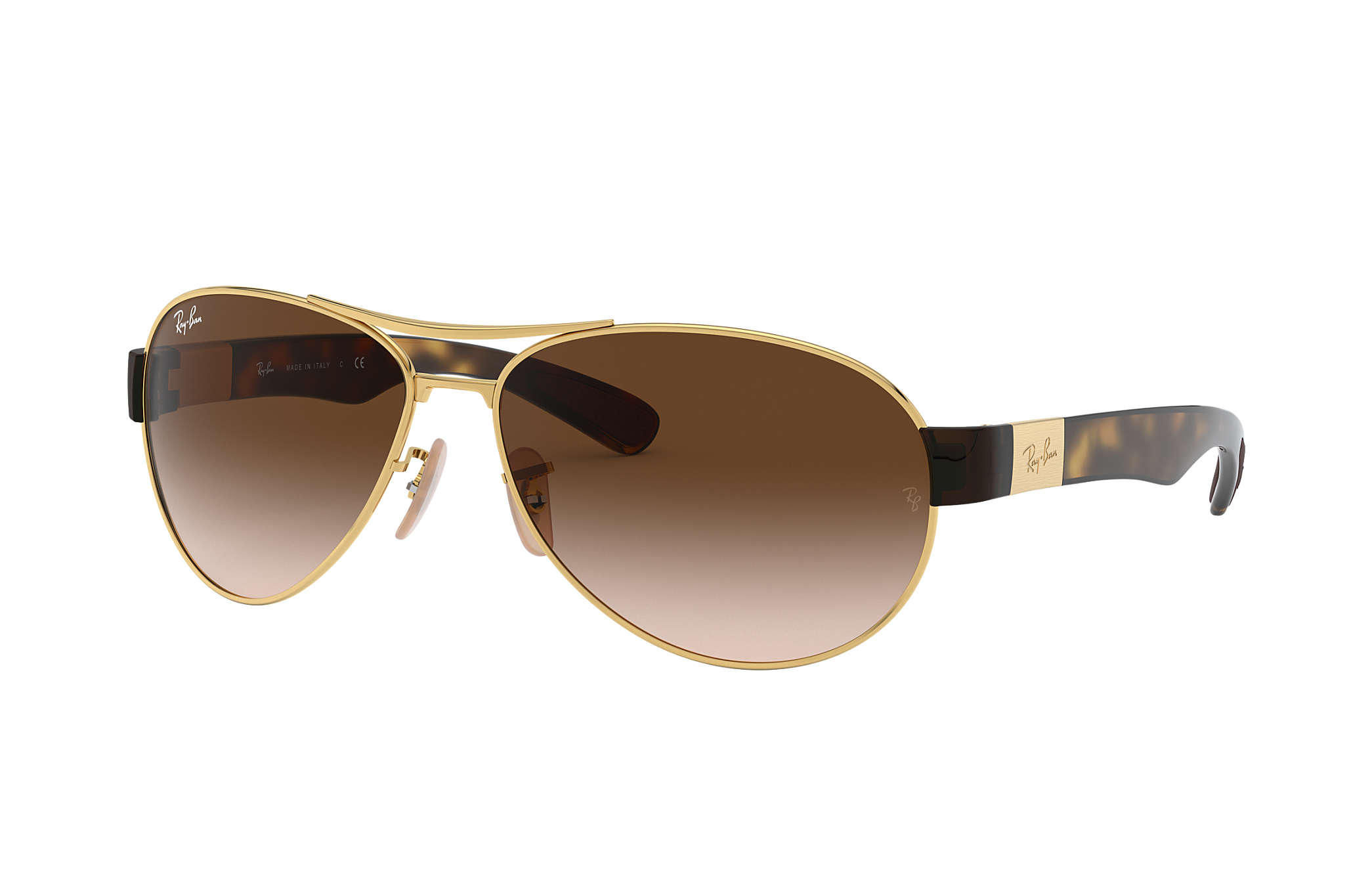 e4c86befea Ray-Ban RB3386 Gold - Metal - Brown Lenses - 0RB3386001 1363