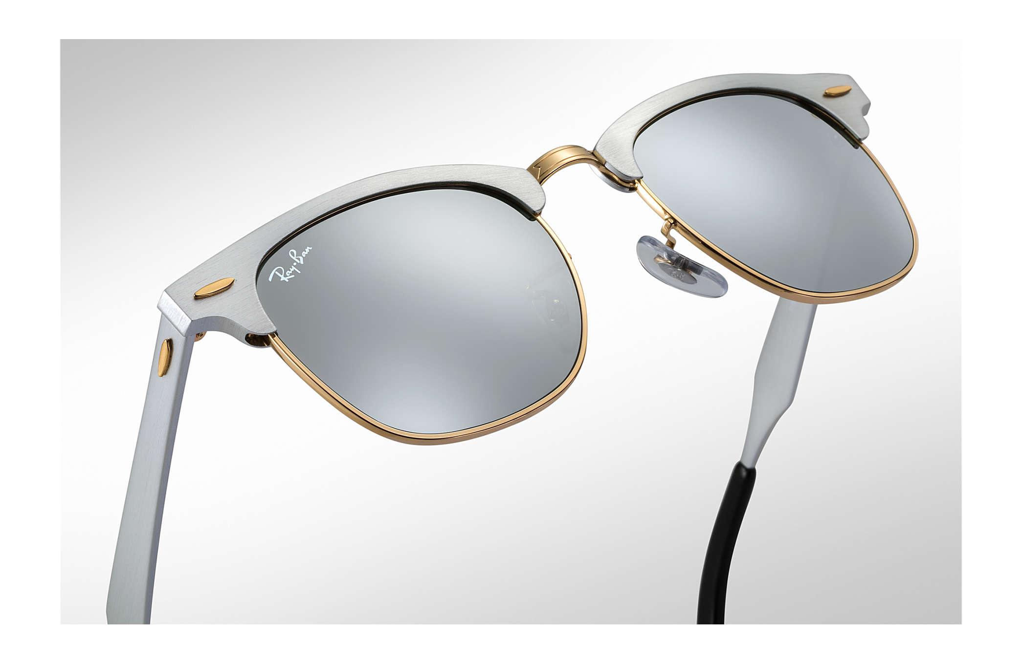 sonnenbrille ray ban aviator silber verspiegelt