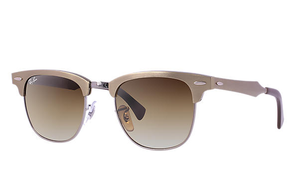 Ray-Ban 0RB3507-CLUBMASTER ALUMINUM 青銅-紅棕色 SUN