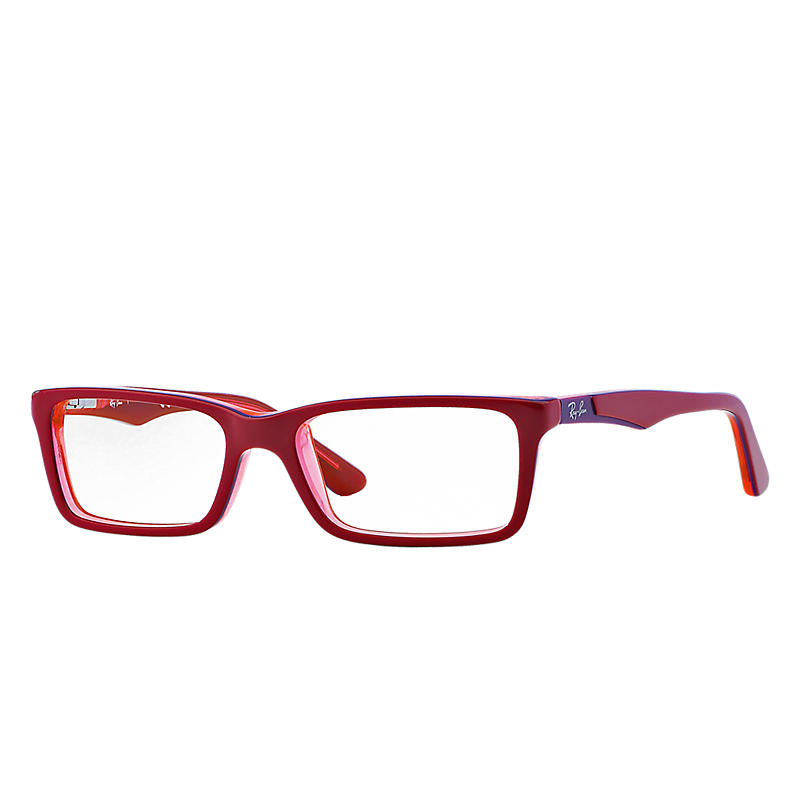 Image of Ray-Ban Junior Red Eyeglasses - Rb1534