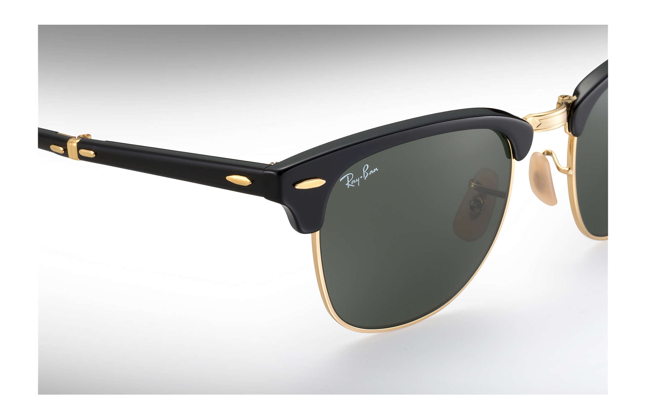 Ray-Ban 0RB2176-CLUBMASTER FOLDING Black SUN
