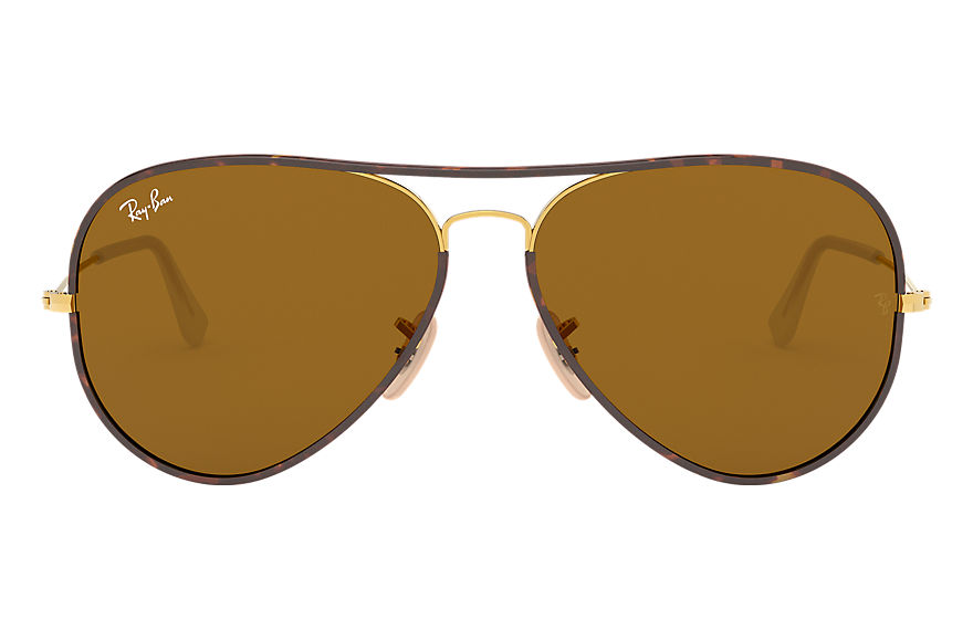 Ray-Ban  sonnenbrillen RB3025JM UNISEX 007 aviator full color havana 8053672130300