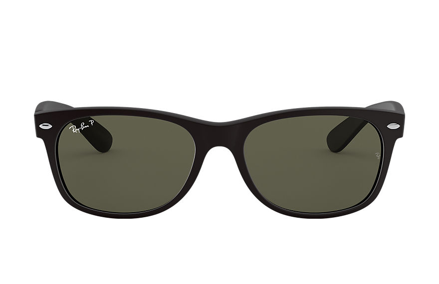 Ray-Ban  sunglasses RB2132 UNISEX 009 new wayfarer classic rubber black 8053672131581