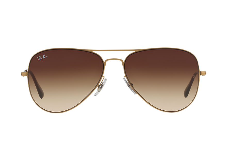 Ray-Ban  sunglasses RB3513 UNISEX 003 飞行员·平板金属 金 8053672138832