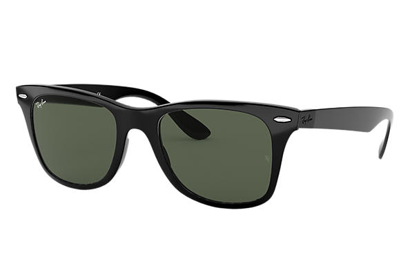 Ray-Ban 0RB4195F-WAYFARER LITEFORCE 黑色 SUN