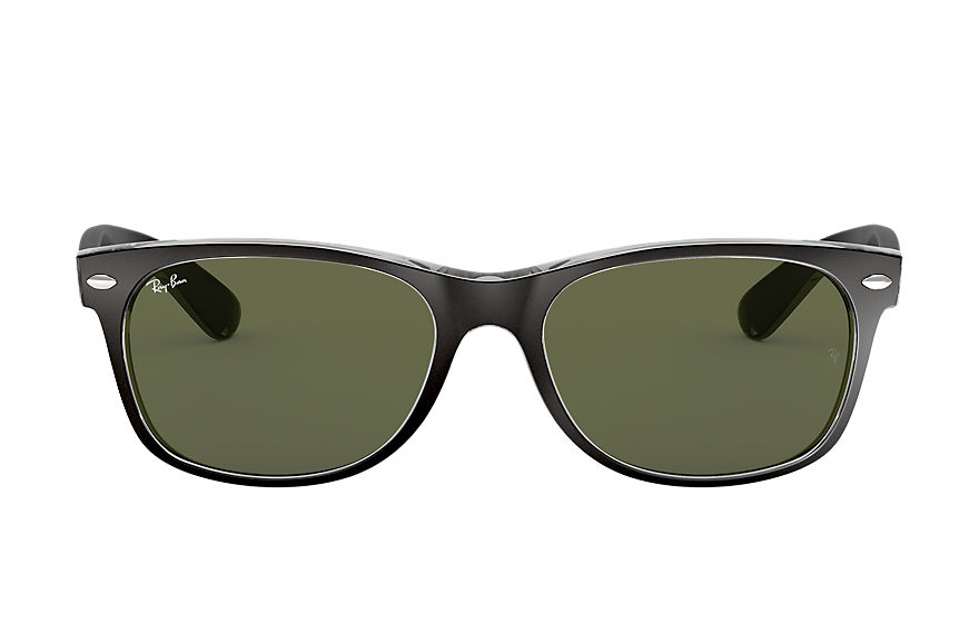 Ray-Ban  sunglasses RB2132 UNISEX 021 new wayfarer color mix matte black 8053672153736