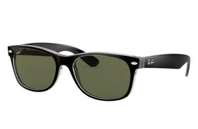 New Cheap Ray-Ban Rb2132 New Wayfarer Sunglasses Matte Black for Men Sale Outlet