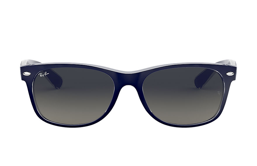 Ray-Ban  sunglasses RB2132 UNISEX 033 new wayfarer color mix matte blue 8053672153743