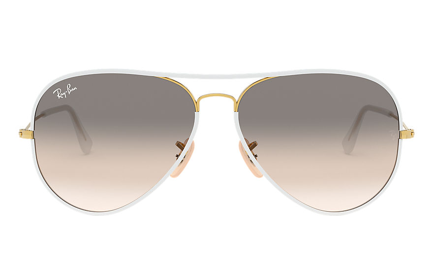 Ray-Ban  gafas de sol RB3025JM UNISEX 004 aviator full color blanco 8053672154429