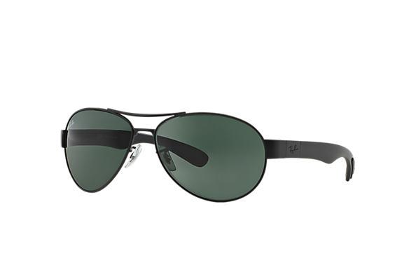 e061c5cd7828f Ray-Ban RB3509 Gunmetal - Metal - Green Lenses - 0RB3509004 7163 ...