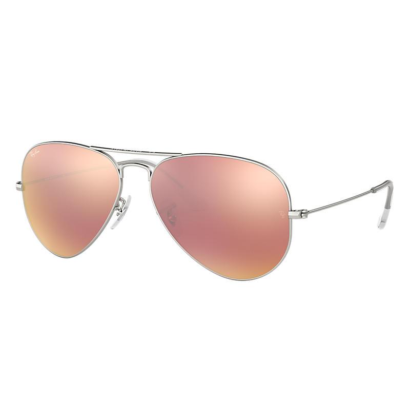 Ray-Ban RB3025 Aviator Flash Lenses Sunglasses