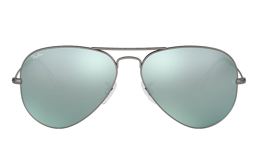 Ray-Ban  sonnenbrillen RB3025 UNISEX 050 aviator flash lenses gunmetal 8053672158663