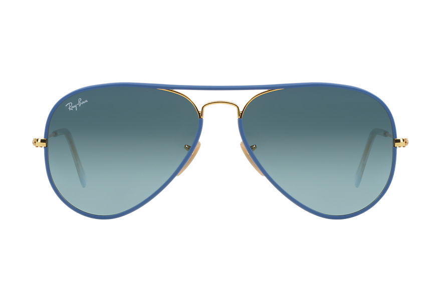Ray-Ban  sunglasses RB3025JM UNISEX 011 aviator full color light blue 8053672158854