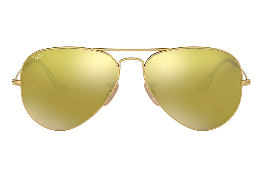 Ray-Ban  sonnenbrillen RB3025 UNISEX 033 aviator flash lenses gold 8053672162622