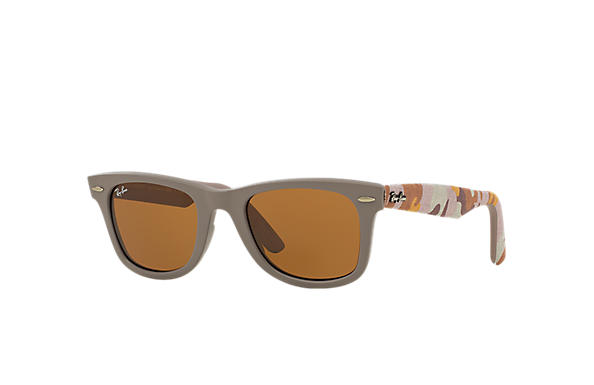 Ray-Ban 0RB2140-ORIGINAL WAYFARER URBAN CAMOUFLAGE Bronze-Copper; Multicolor,Bronze-Copper SUN
