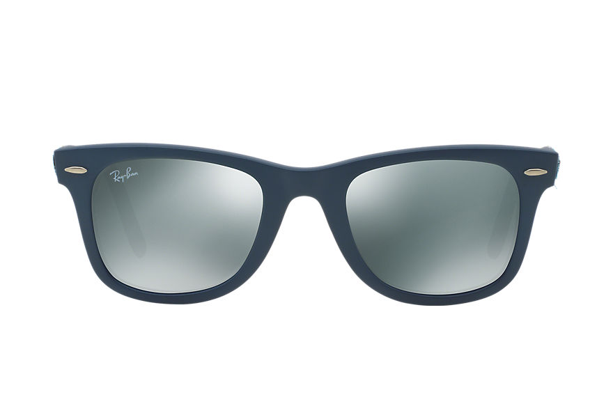 Ray-Ban ORIGINAL WAYFARER CAMOUFLAGE Blue with Silver Mirror lens