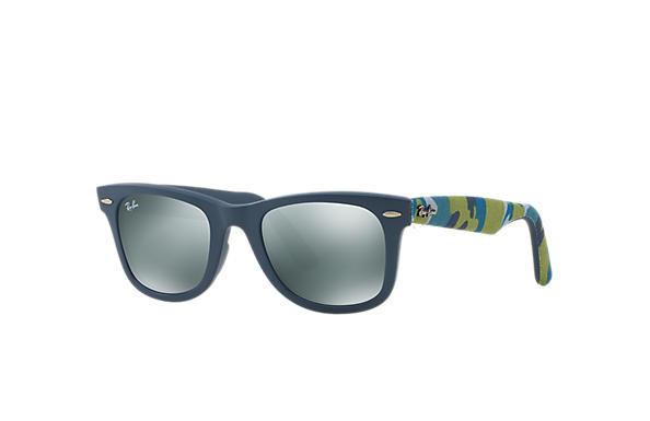 Ray-Ban 0RB2140-ORIGINAL WAYFARER URBAN CAMOUFLAGE Blue; Multicolor,Blue SUN