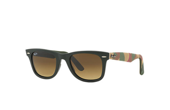 Ray-Ban 0RB2140-ORIGINAL WAYFARER URBAN CAMOUFLAGE Green; Multicolor,Green SUN