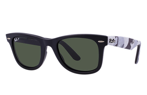 Ray-Ban 0RB2140-ORIGINAL WAYFARER URBAN CAMOUFLAGE Black  Multicolor,Black  SUN ... 1e8819f93a