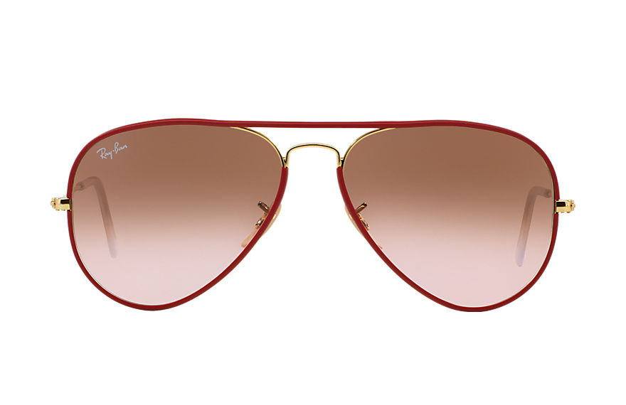 Ray-Ban  sunglasses RB3025JM UNISEX 014 aviator full color red 8053672164671