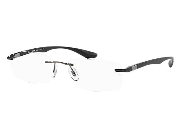 Ray-Ban 0RX8724-RB8724 Gun; Noir OPTICAL