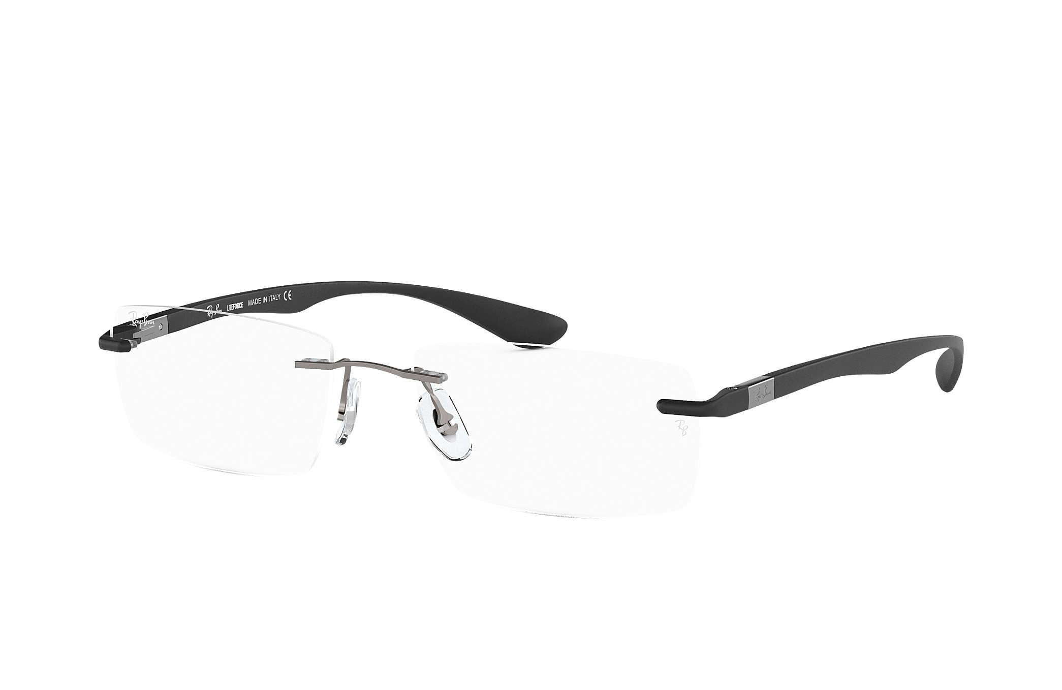 52c7247e2 Óculos de grau Ray-Ban RB8724 Chumbo - Titânio - 0RX8724100056   Ray ...