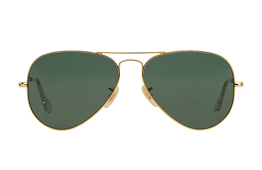 Ray-Ban  lunettes de soleil RB3025K UNISEX 001 aviator solid gold or 8053672169515