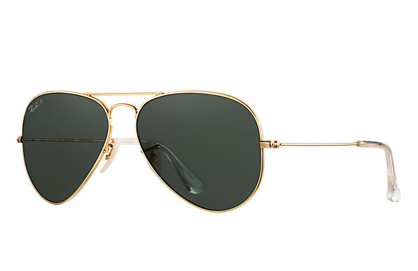 Ray-Ban 0RB3025K-AVIATOR SOLID GOLD Gold SUN