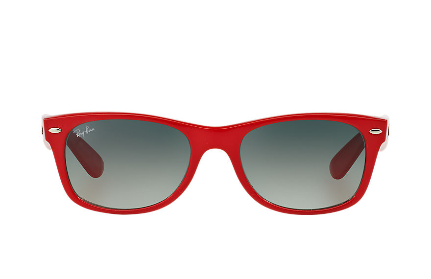 Ray-Ban  lunettes de soleil RB2132 UNISEX 006 new wayfarer color splash rouge 8053672171648