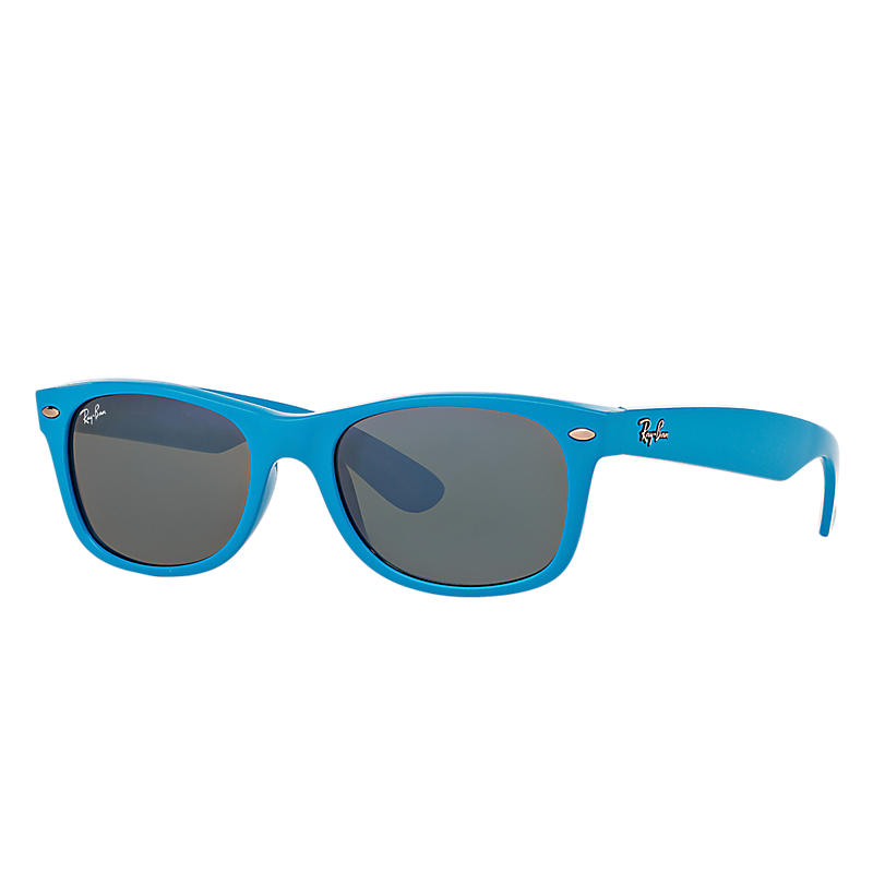 Ray-Ban New Wayfarer Color Splash Blue Sunglasses,