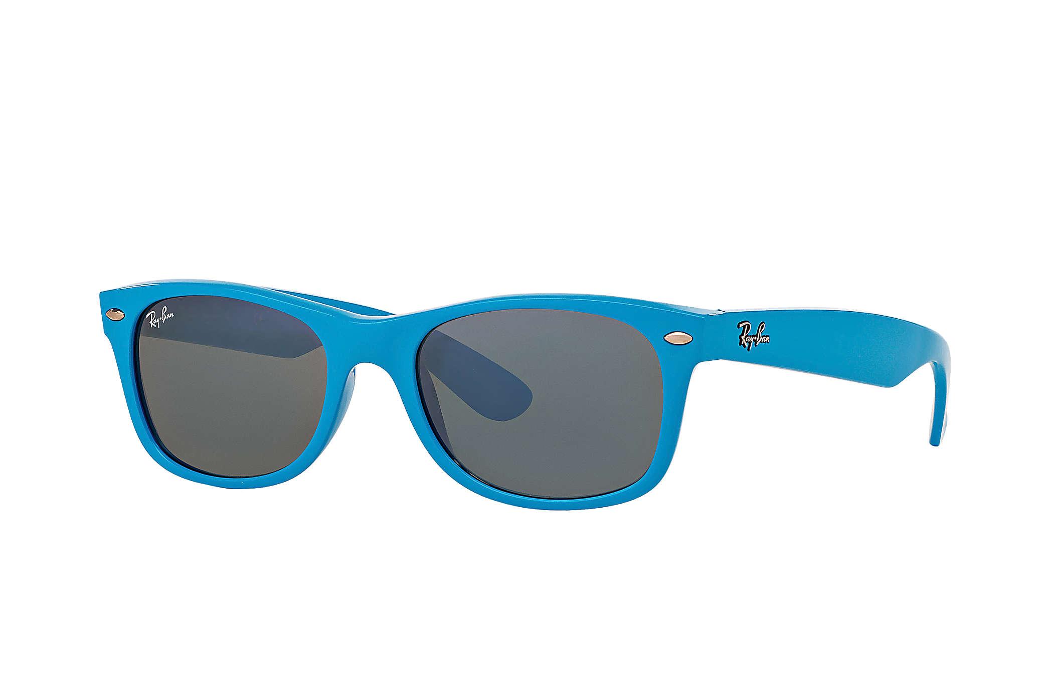 40fb23357 Ray-Ban New Wayfarer Color Splash RB2132 Azul-claro - Nylon - Lentes ...