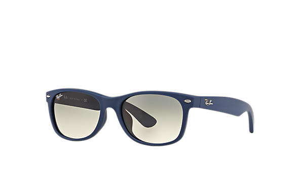 Ray-Ban 0RB2132F-NEW WAYFARER MATTE Blue SUN