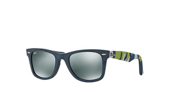 6fbd3534551 Ray-Ban 0RB2140F-ORIGINAL WAYFARER URBAN CAMOUFLAGE Blue  Multicolor SUN
