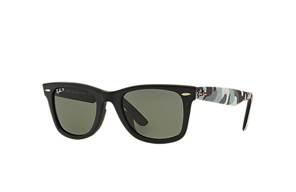 Ray-Ban 0RB2140F-ORIGINAL WAYFARER URBAN CAMOUFLAGE Black; Multicolor SUN