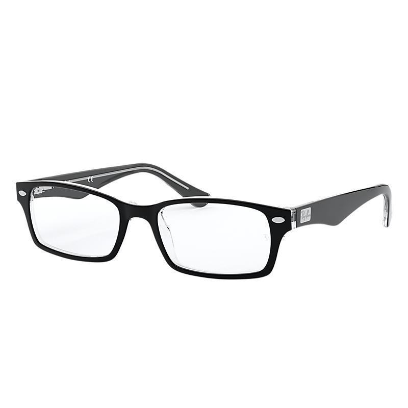 Image of Ray-Ban Black Eyeglasses - Rb5206