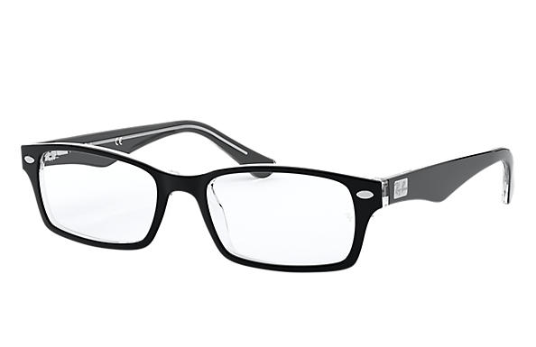 Ray-Ban 0RX5206-RB5206 Noir,Transparent OPTICAL