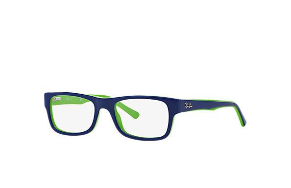 df845491eac Ray-Ban prescription glasses RB5268 Blue - Acetate - 0RX5268518248 ...