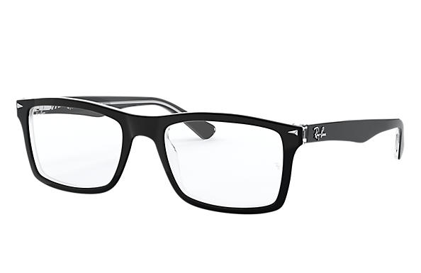 Ray-Ban 0RX5287-RB5287 Black,Transparent OPTICAL