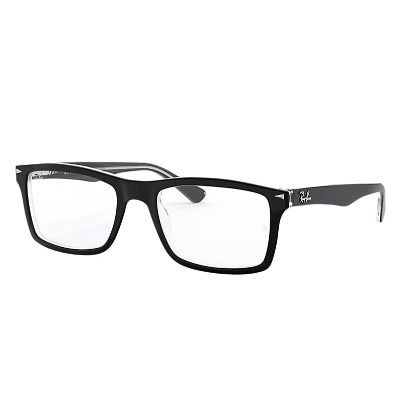 Image of Ray-Ban Black Eyeglasses - Rb5287