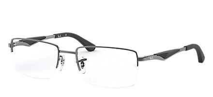 30e1e0ee053 Ray-Ban RB6285 Gunmetal. Ray-Ban eyeglasses RX6285 MALE 007 rb6285 black  8053672187236. Next. RB8413