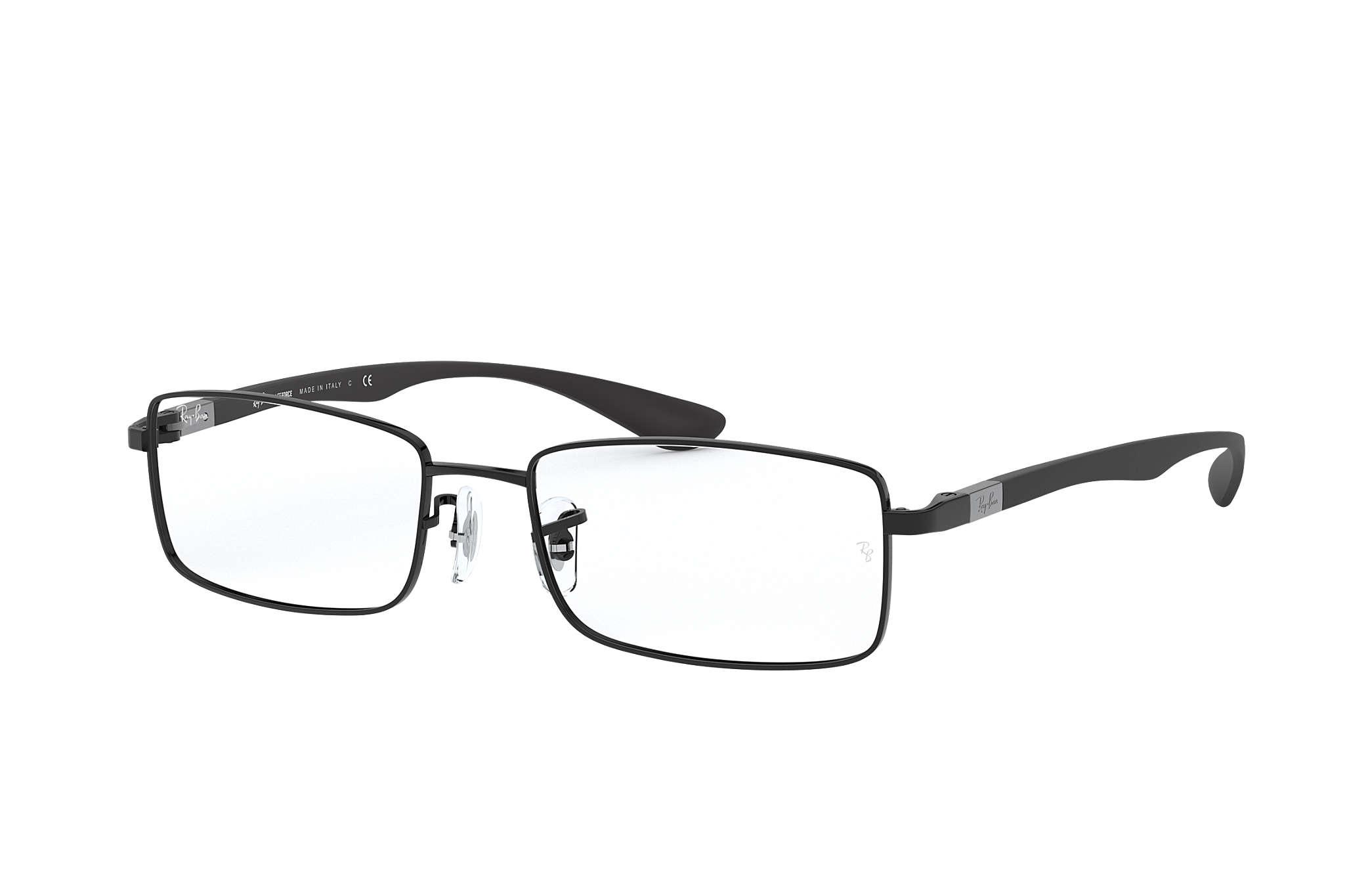 69b0ea22c6eeb Ray-Ban prescription glasses RB6286 Black - Liteforce ...