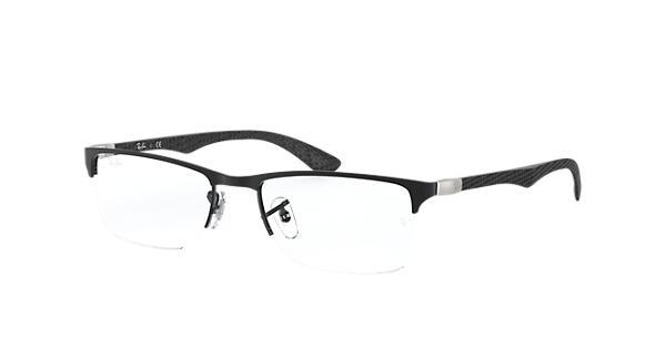 a7a230bd15 Ray-Ban prescription glasses RB8413 Black - Carbon Fibre - 0RX8413250352
