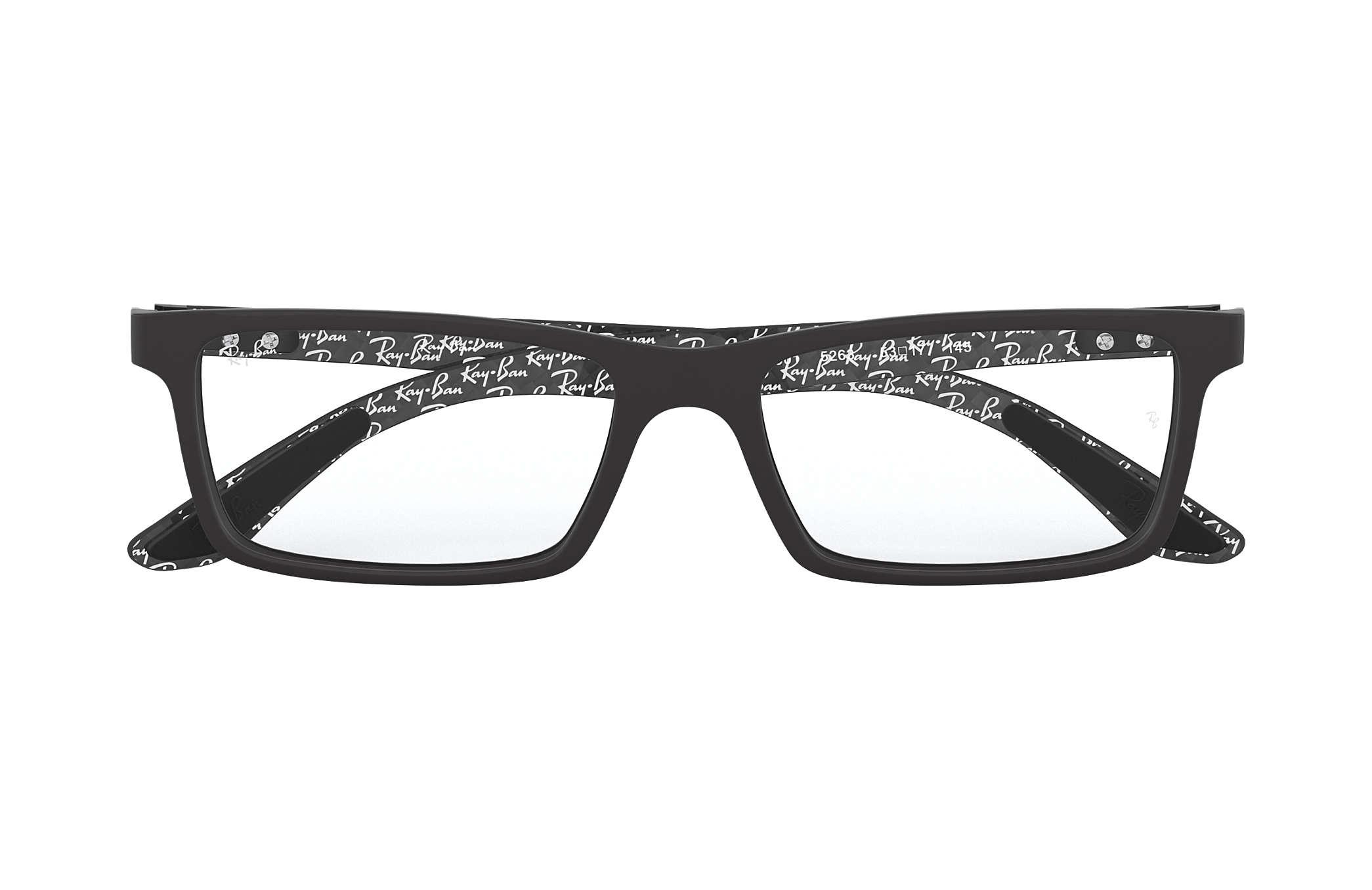 Ray-Ban prescription glasses RB8901 Black - Carbon Fibre ... d8a93b4d9b85