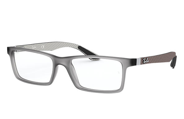 cb9bf71711 Ray-Ban prescription glasses RB8901 Grey - Carbon Fibre ...