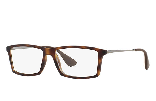 Ray-Ban 0RX7021-MATTHEW Tortoise; Gunmetal OPTICAL