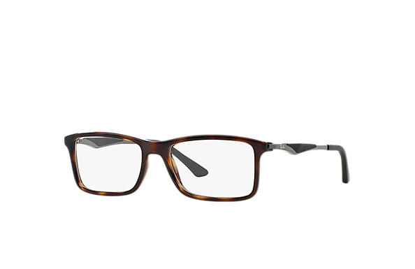 Ray-Ban 0RX7023-RB7023 Tortoise; Gunmetal OPTICAL