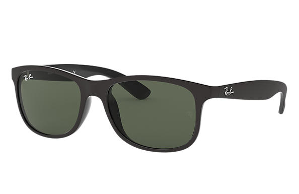 Ray-Ban ANDY Black with Green Classic lens