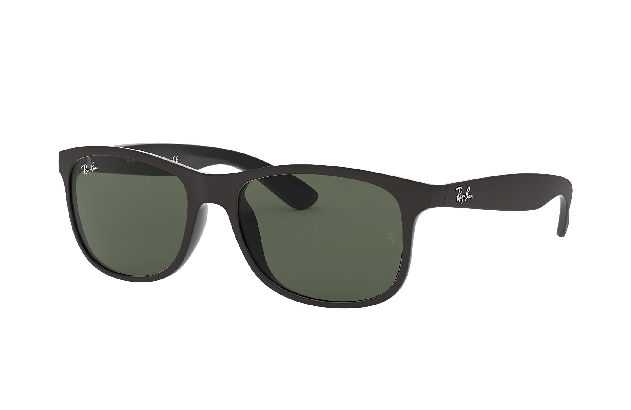 9f52af13d1 Ray-Ban Justin Color Mix RB4165 Black - Nylon - Blue Lenses ...
