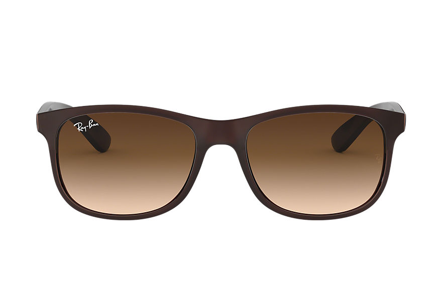 Ray-Ban		 ANDY Brown met brillenglas Brown Gradiënt