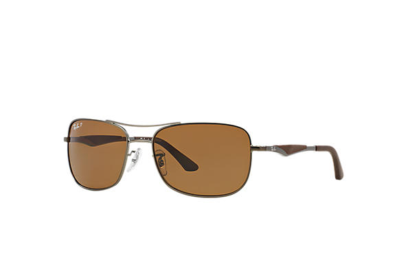 Ray-Ban 0RB3515-RB3515 Staalgrijs SUN
